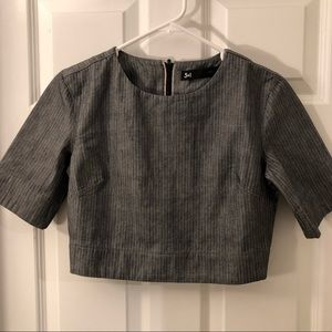 NWOT 3x1 NYC crop top denim
